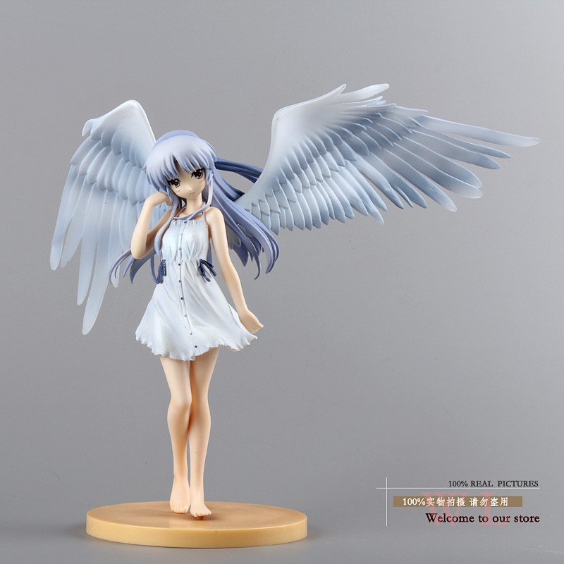 Anime FS Angel Beats! Tenshi Kanade Tachibana Good Smile ver Limited PVC Action Figure Models Toys 1/8 20cm Free Shipping good homelessness 20cm