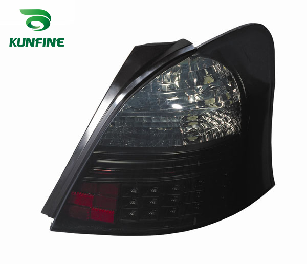 Pair Of Car Tail Light Assembly For TOYOTA yaris smoke LED Brake Light With Turning Signal Light