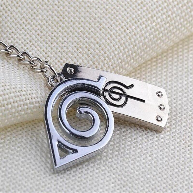 Naruto Sand Village Headband Logo Metal Keychain Gaara Key Ring Charm