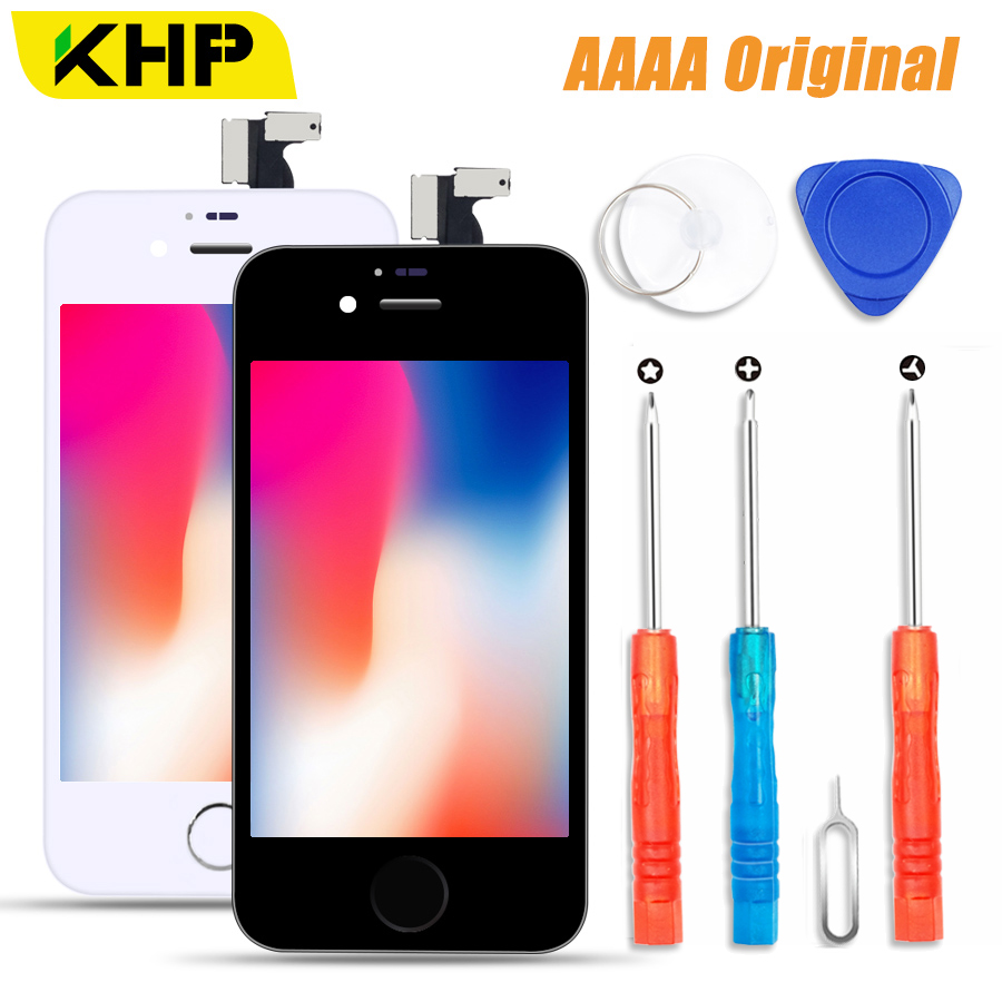 2019 KHP 100% AAAA Original LCD Screen For iPhone 4S 4 Screen LCD Display Digitizer Touch Module 4S 4 Screens Replacement LCDS2019 KHP 100% AAAA Original LCD Screen For iPhone 4S 4 Screen LCD Display Digitizer Touch Module 4S 4 Screens Replacement LCDS