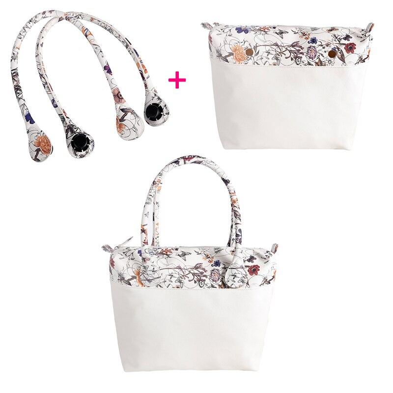 fb1ba79f56da Мода DIY Съемный OBAG аксессуары и сумка PU внутренний карман и ручка  итальянский стиль сумка