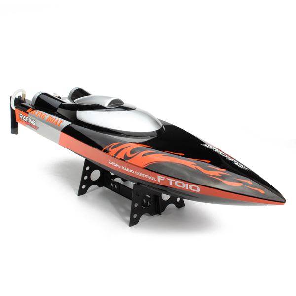 F16610 Large 65cm FT010 2.4G Remote Controller Brushed Speedboat RC Racing Boat High Speed 35KM/H Water Cooling System Toy