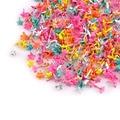 100 шт Красочные микс прекрасный цветок Brads Металл ремесла для обуви украшения-брадсы DIY альбом украшения для скрапбукинга C1925