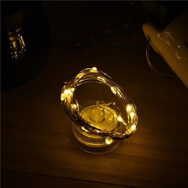 1pcs DIY Wedding Decoration Colorful Lanterns String Lights Mini DIY Lamp Creative Lighting chains Bedroom/home Decor halloween