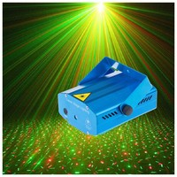 1pcs RG Mini Laser Projector DMX LED Stage Lighting Professional DJ Equipment Strobe Dance Disco Light