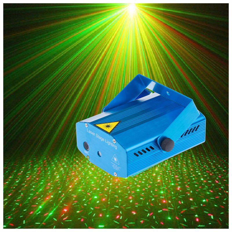 RG Mini Laser Projector DMX LED Stage Lighting Professional DJ Equipment Strobe Dance Disco Light Home Party Show Lights laser stage lighting 48 patterns rg club light red green blue led dj home party professional projector disco dance floor lamp