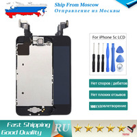 SHIP FROM RUSSIA Screen For Iphone 5c Lcd Display Touch Screen Home Button Front Camera Speaker
