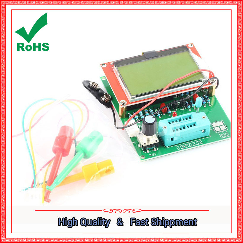 GM328R transistor tester \ ESR table \ LCR table \ frequency meter \ square wave generator