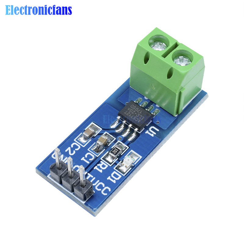 CJMCU-758 ACS758LCB-050B-PFF-T Linear//Hall Current Sensor Modul Für Arduino GE