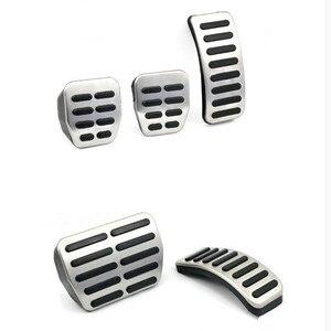 Image 1 - Автомобильные тормозные педали из нержавеющей стали для Audi TT, педали Для VW SEAT Golf 3 4 Polo 9N3 для SKODA Octavia Ibiza Fabia A1 A2 A3 GTI