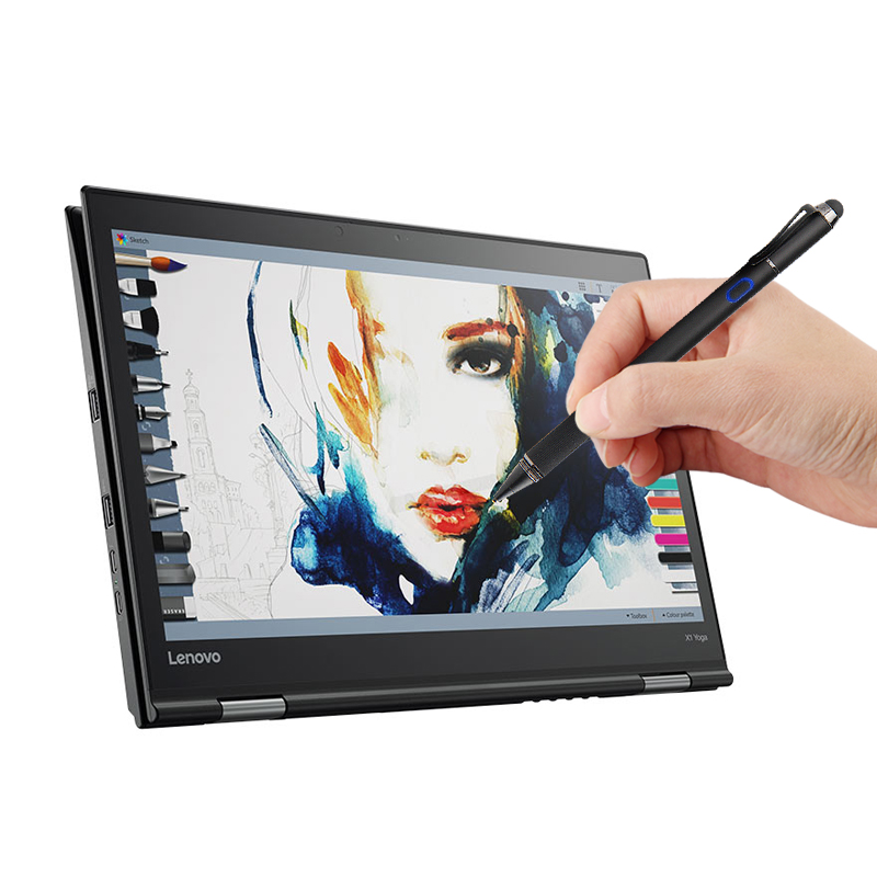 Pen Stylus Active Capacitive Touch Screen For Lenovo YOGA 720 710 920 910 900s 6 7 Pro 5 4 ThinkPad New S3 S2 S1 X1 Laptops Case
