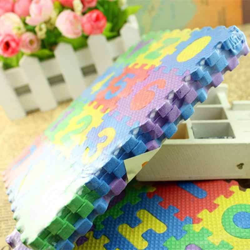 36 шт./компл. детский Алфавит буквы цифры головоломка красочные детские ковры игровой коврик мягкий пол ползающий пазл детские развивающие игрушки