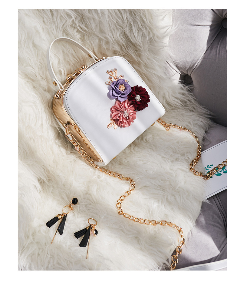 Women crossbody bag female messenger bag with long and short strap fashion designs flowers 56