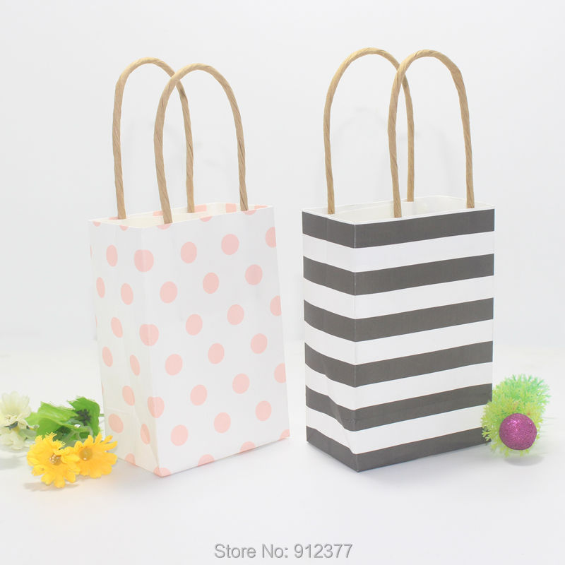 2016 new arrival small gift bags with handles wedding