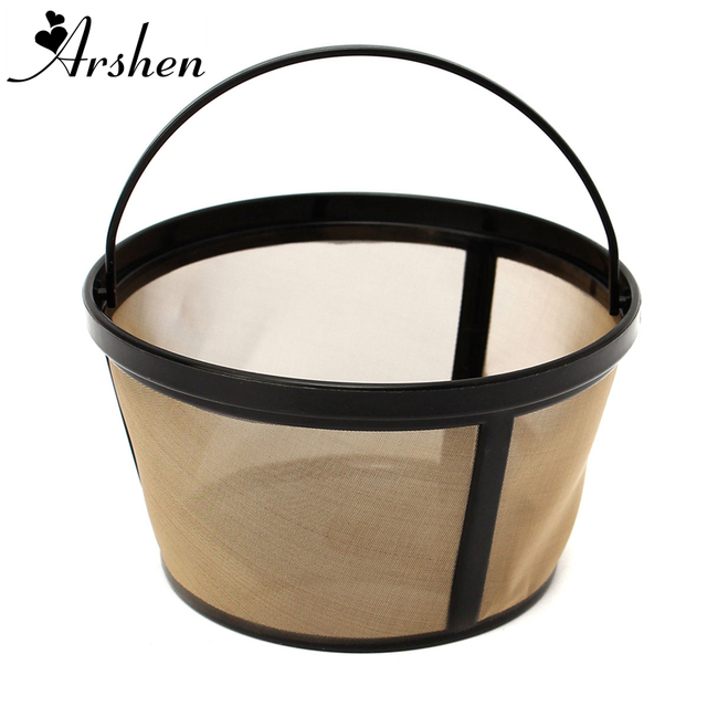 Arshen Coffee Strainer Basket Style Gold Permanent Durable Coffee