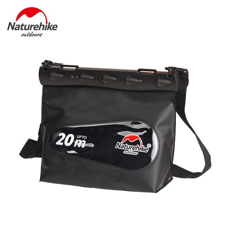 Naturehike Outdoor Swimming Bag For Phone Camera Diving Seal Waterproof Bag Dry Sack Drifting Shoulder Bag For Women Men S M L