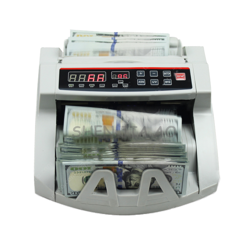 1pc 110V / 220V Bill Counter Money Counter ,Suitable for EURO US DOLLAR etc. Multi-Currency Compatible Cash Counting Machine ru us aibecy multi currency cash banknote money bill automatic counter counting machine lcd display for euro us dollar aud pound