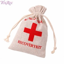 FENGRISE 1 pcs Hangover Kit Bags Wedding Favors And Gifts For Guests First Aid Holder Bag Bachelorette Party Supplies