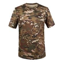 ELOS-новинка, уличная камуфляжная футболка для охоты, Мужская дышащая армейская тактическая футболка, военная сухая Спортивная камуфляжная футболка для лагеря-CP Green