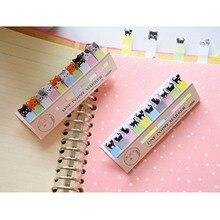 Мини блокнот дневник клейкая наклейка s кот шаблон стикер Памятка Горячая