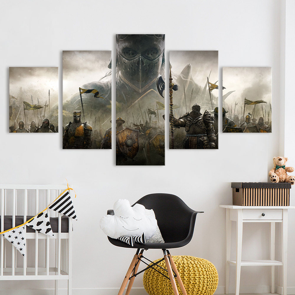 Qkart Panels Landscape Foe Honor Apollyon Blackstone Legion Painting Mouse Canvas Art Wall Pictures For Living Room Home Decor In Calligraphy From