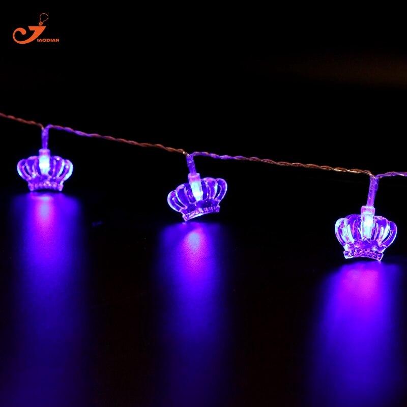Crystal String lights Prices Crown Lighting LED Princess Wedding