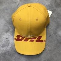 2018ss Best Version Vetements DHL Print Logo Embrodiery Women Men Caps Snapback Hiphop Streetwear Unisex Caps Hats Baseball Cap