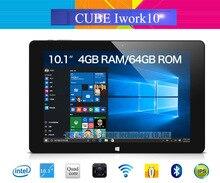 Original Cube iwork10 Ultimate Windows10+Android 5.1 Tablet PC 10.1'' IPS 1920x1200 Intel Atom X5-Z8300 Quad Core 4GB/64GB HDMI