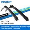 Car Wiper Blade For Ford Mondeo 3 26 19 Rubber Bracketless Windscreen Wiper Blades Wiper Car