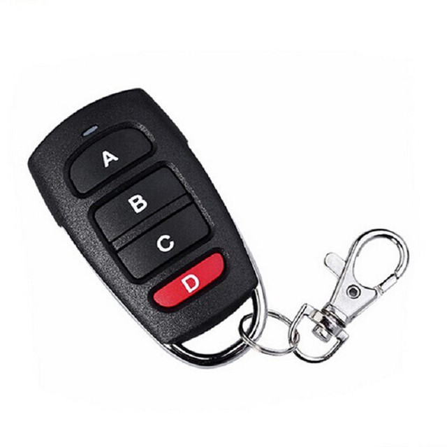 New Arrival 2017 Car Universal Electric Garage Door Remote Control Key Fob Cloning Cloner 433mhz