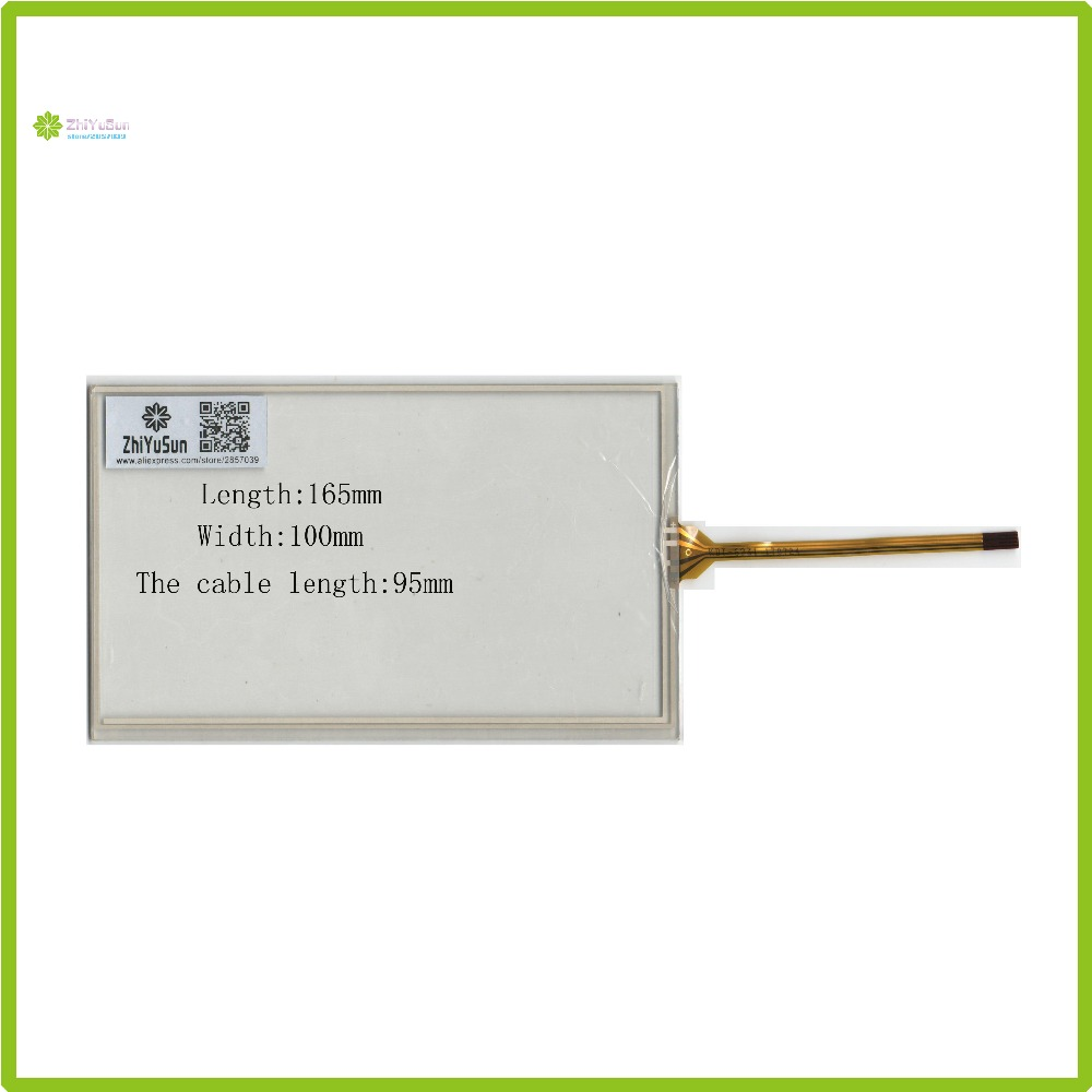 ZhiYuSun KDT-6231 7Inch 165mm*100mm 4Wire Resistive <font><b>TouchScreen</b></font> Panel Digitizer <font><b>165</b></font>*<font><b>100</b></font> this is compatible image