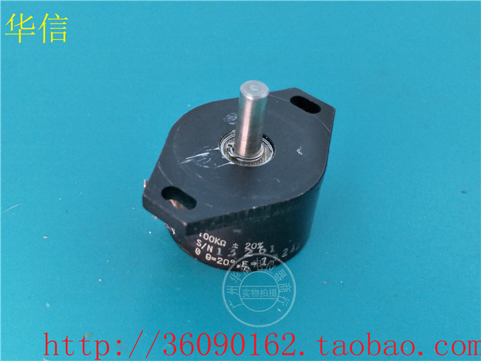 [VK] Used NE 479499-2 MFR 08815 156-L1-112-02 100K conductive plastic potentiometer switch[VK] Used NE 479499-2 MFR 08815 156-L1-112-02 100K conductive plastic potentiometer switch