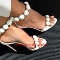 Новая Мода Лето Большой Размер Rihanna Гладиатор Сандалии Женщин Сексуальные Высокие Каблуки Партия Обуви Застегнул T-ремень Шипованных Pom Pom Сандалии