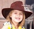 Tamanho do miúdo CLÁSSICO Chapéu de Vaqueiro Ocidental Cowboy Unisex Traje para a Festa