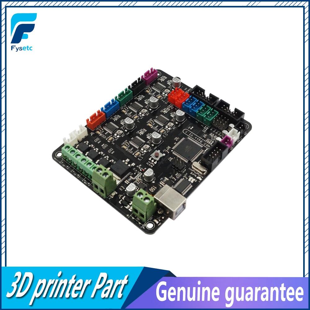 MKS Base V1.5 Compatible For Prusa i3 Mega 2560 R3 Motherboard RepRap Ramps1.4 3D Printer Control Board With USB 3D Printer цена и фото