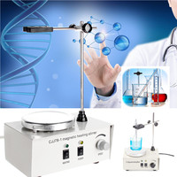 78 1 Hot Plate Magnetic Stirrer Mixer Machine 110V 150W 1000ML 2400rpm Heating Medical Laboratory Tool Control Temperature