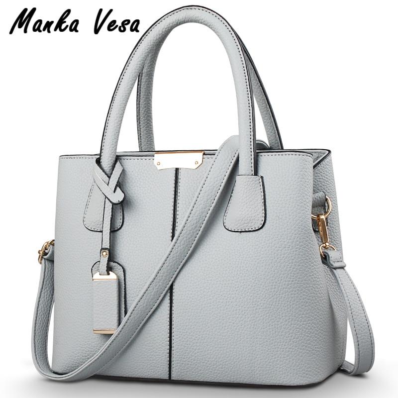 2017 bolsos bag Famous Brand Women messenger bags fashion Leather Handbag Should