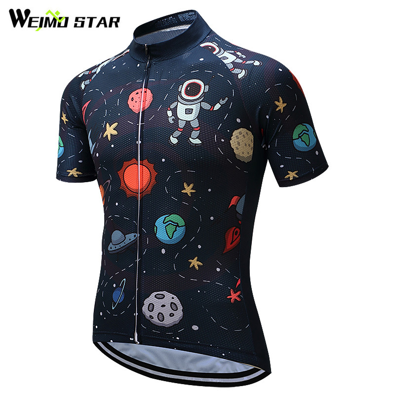 Weimostar Ciclismo Jersey 2018 manga corta hombres Ciclismo transpirable ropa MTB bike Jersey Bicicletas ropa maillot ciclismo