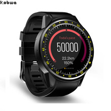 F1 GPS Bluetooth Smart Watch Heart Rate  Monitor Smartwatch SIM TF Card Watches for Android IOS  Watch Phone