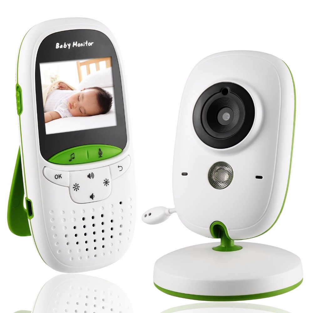 Babykam baba electronics baby monitor 2.0 inch LCD IR Night Vision Temperature Sensor Lullabies Baby Intercom vb605 radio nanny