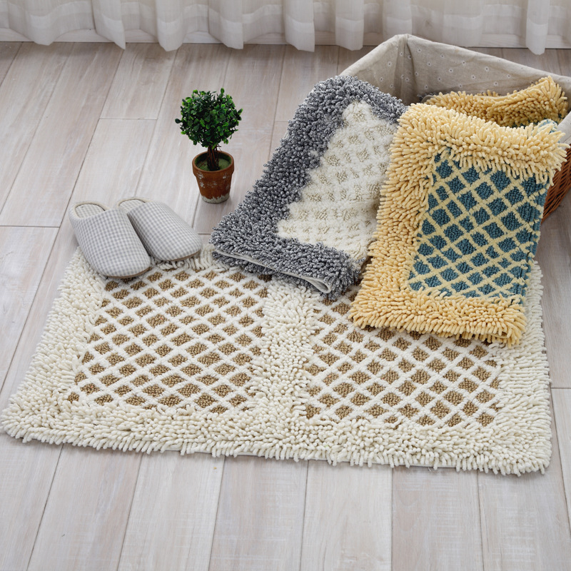 Aliexpress.com : Buy Cotton carpet Chenille mats ...
