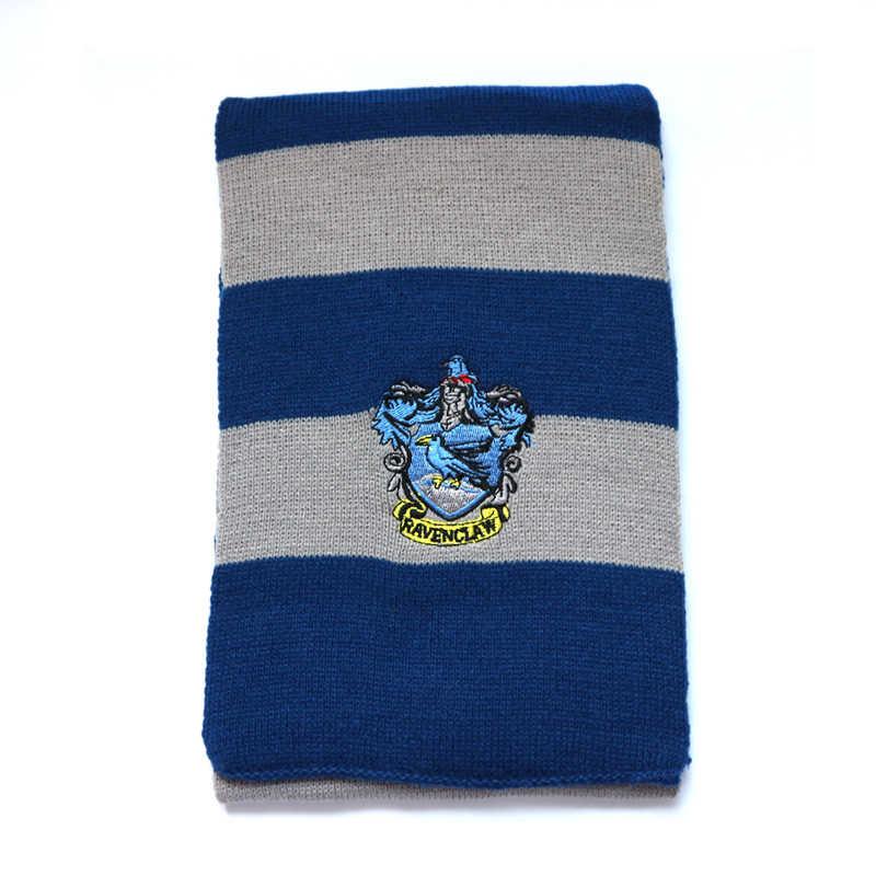 Nhà Gryffindor Slytherin Ravenclaw Hufflepuff Người Lớn Hay Trẻ Mùa Đông Dài Cotton Khăn Ấm Bé Trai Và Bé Gái Cổ Mùa Thu