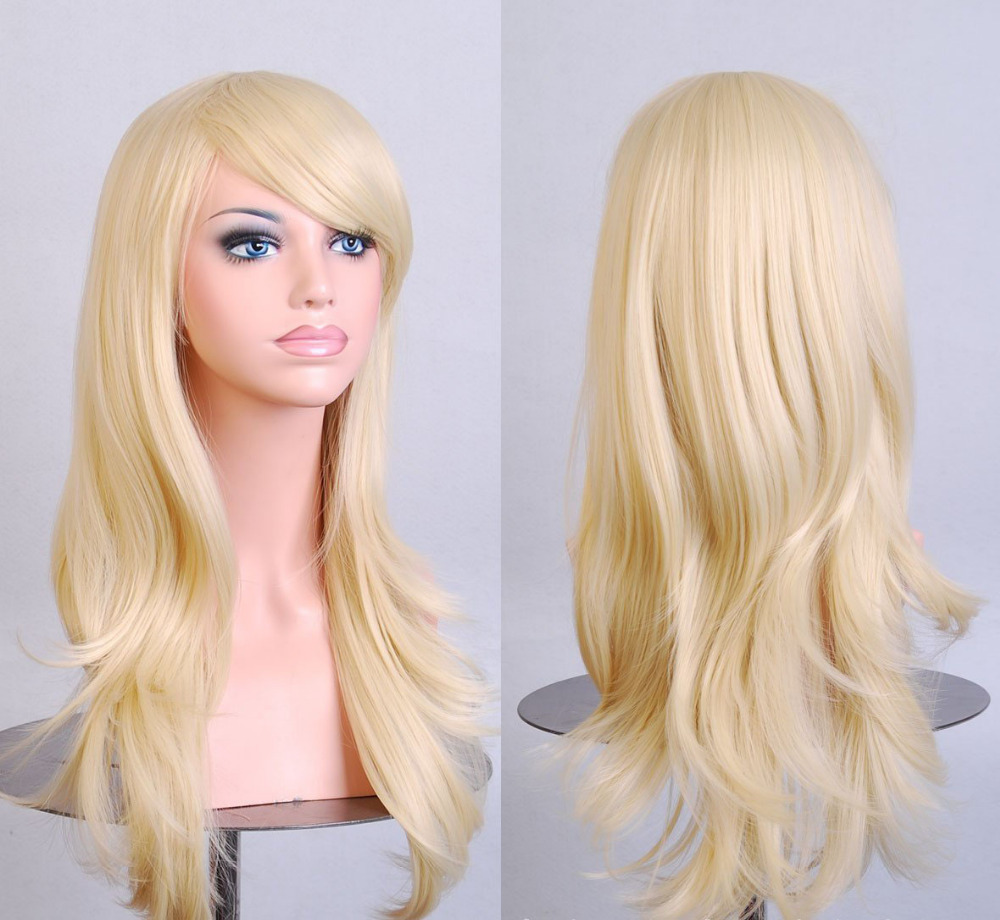 With A Blond Wig Wigs By Unique