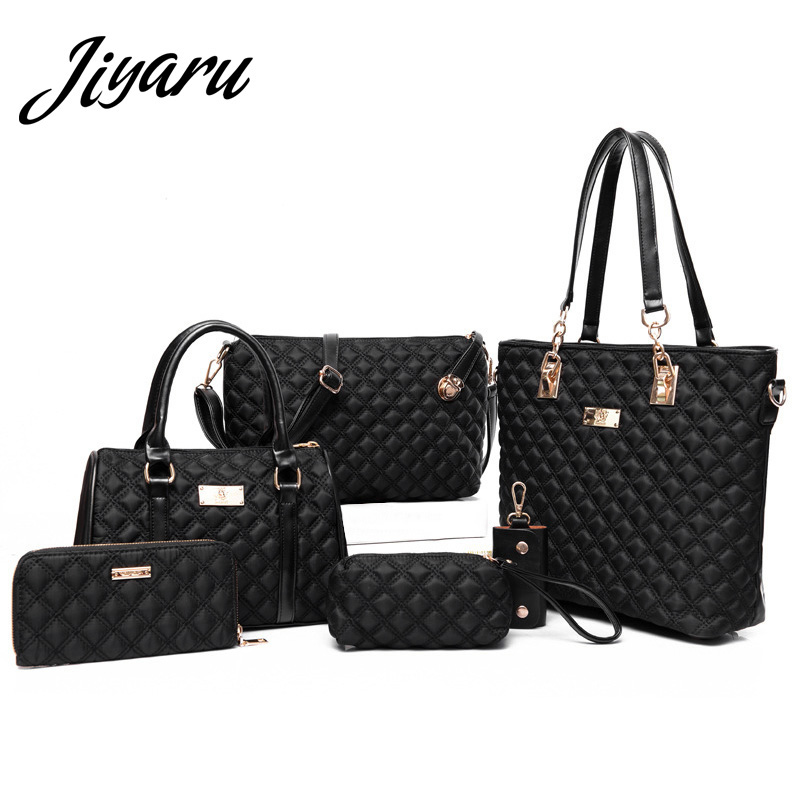 Women Bag Set for Women 2018 Nylon Shoulder Luxury Handbags Women Bags Designer Tote Ladies Messenger Bags Cross Body Purses women vintage handbags ladies tote cross body shoulder messenger england