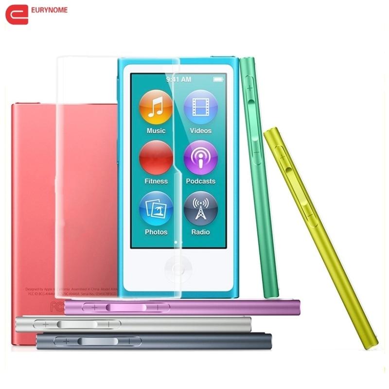 Case for Ipod Nano 7 Cover Candy Color Soft TPU Silicone Case for Apple iPod Nano 7 7th generation Case