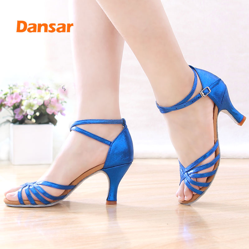 Hot Selling Women Girls Professional Dancing Shoes,Dance Shoes For Latin,Salsa,Jazz,Tango,Ballroom Dancing,With Heels 5CM/7CM