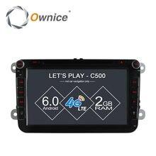 "8"" Ownice Android 6.0 Quad Core Car DVD GPS for Volkswagen golf 4 golf 5 6 touran passat B6 sharan jetta caddy 4G LTE Network"