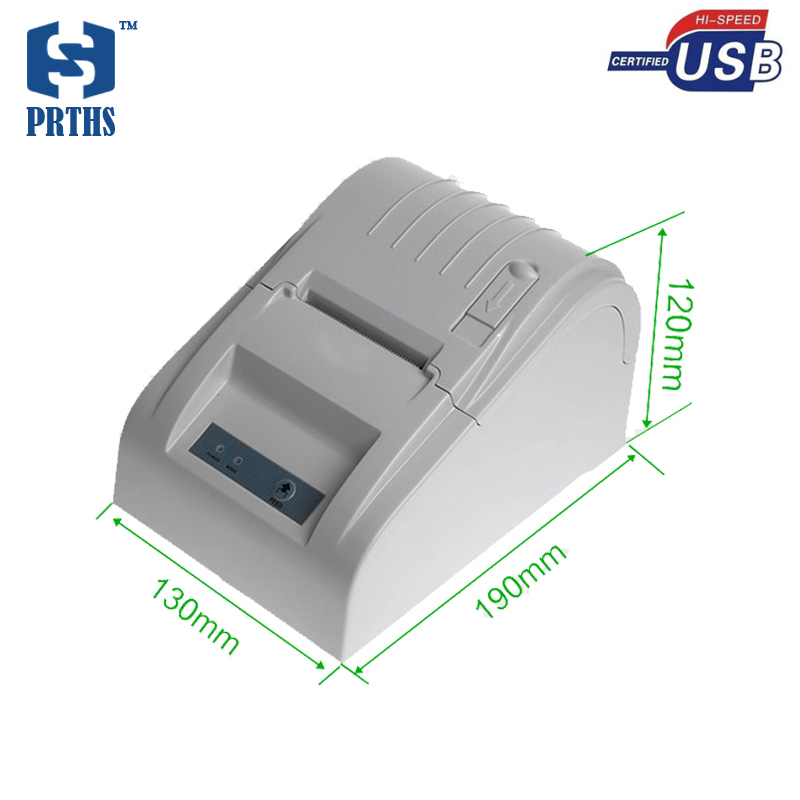 Quality pos desktop 58mm thermal receipt printer with usb port no need ribbon easy to use machine for supermarket serial port best price 80mm desktop direct thermal printer for bill ticket receipt ocpp 802