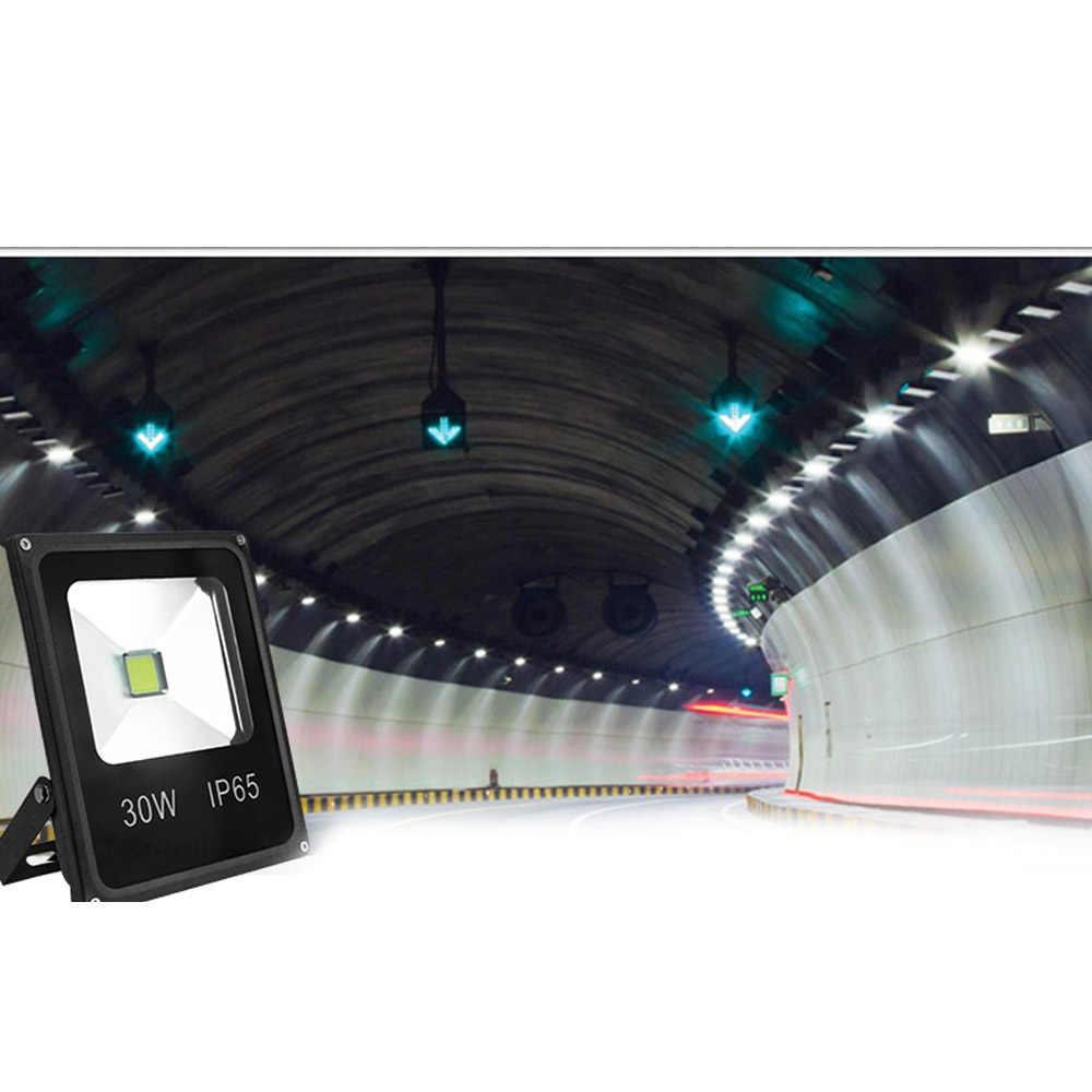 LED Flood Light 10W 20W 30W 50W Projector Reflector Wall Lamp Waterproof 220V Led COB Chip Floodlight Spotlight Outdoor Lighting