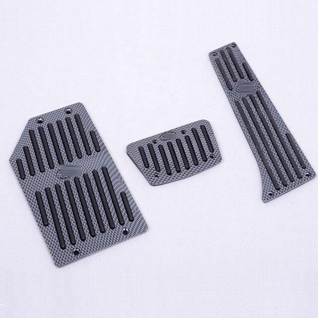 Aluminum Fuel Brake AT Pedals Foot Rest pad For KIA OPTIMA SEDAN EX Cadenza K5 K7 Sorento 2010-2014